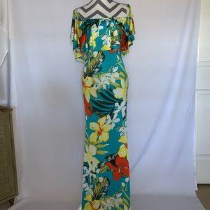 Banjul Maxi Floral Dress